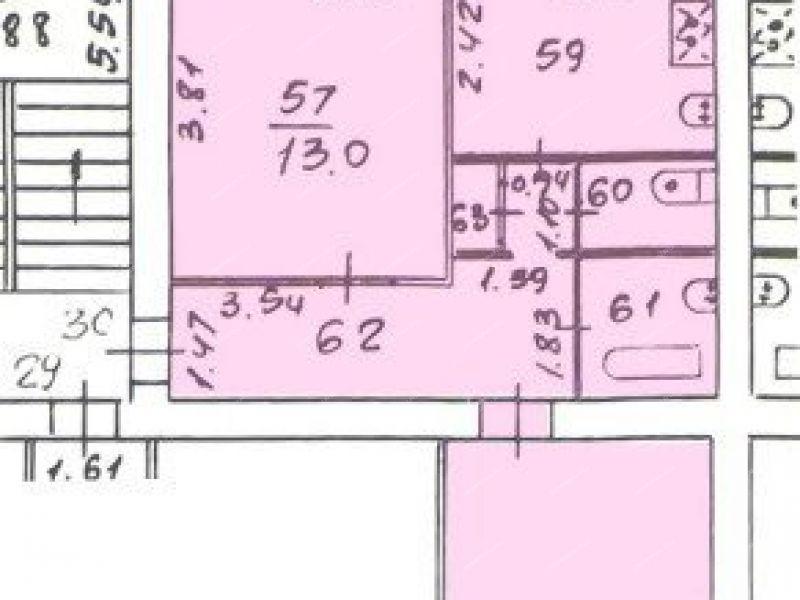 двухкомнатная квартира на проспекте Ленина дом 31 город Саров