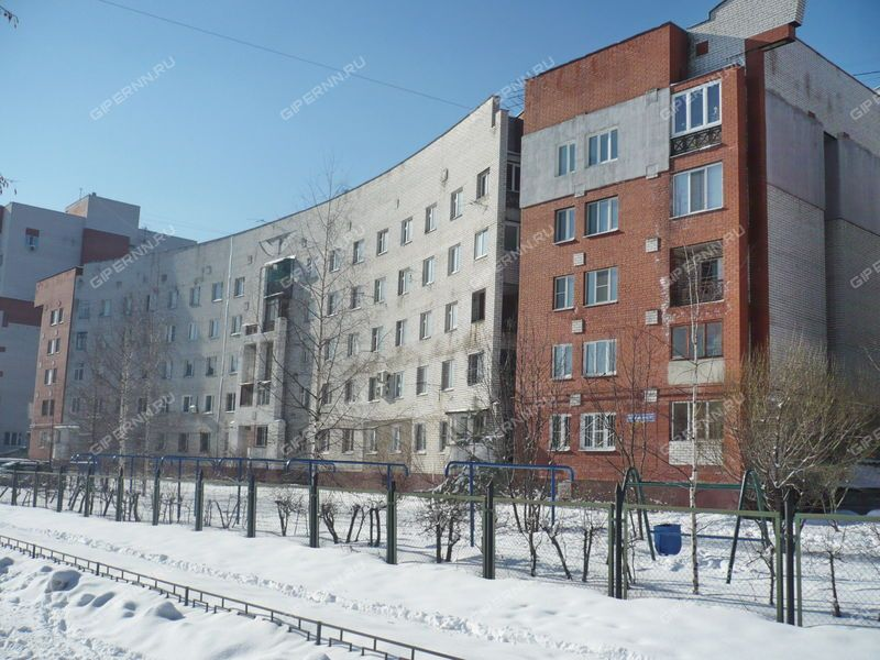 трёхкомнатная квартира на улице Гордеевская дом 14