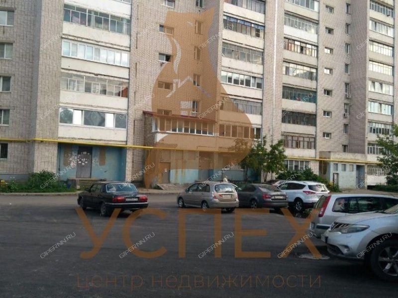 двухкомнатная квартира на улице Попова дом 36А город Дзержинск