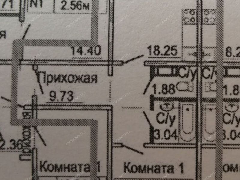 однокомнатная квартира на Малоэтажной улице