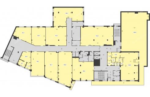bogemiya-palas-maksima-gorkogo-ulica-262 планировки бизнес-центра фото