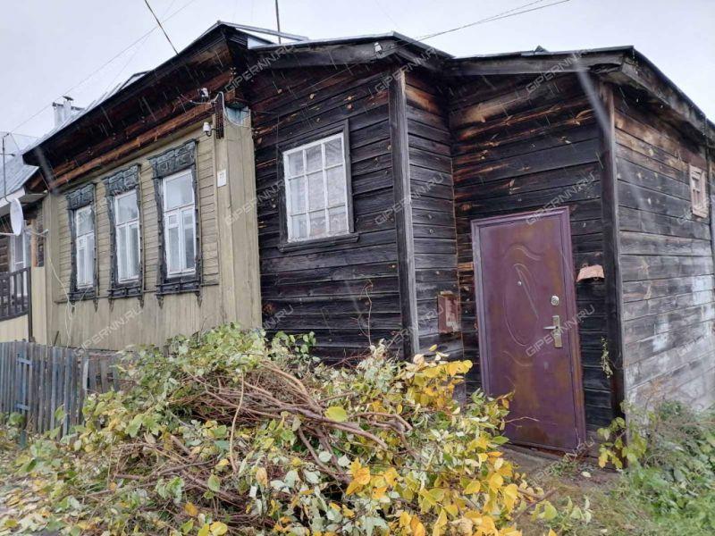 трёхкомнатная квартира на улице Фрунзе город Павлово