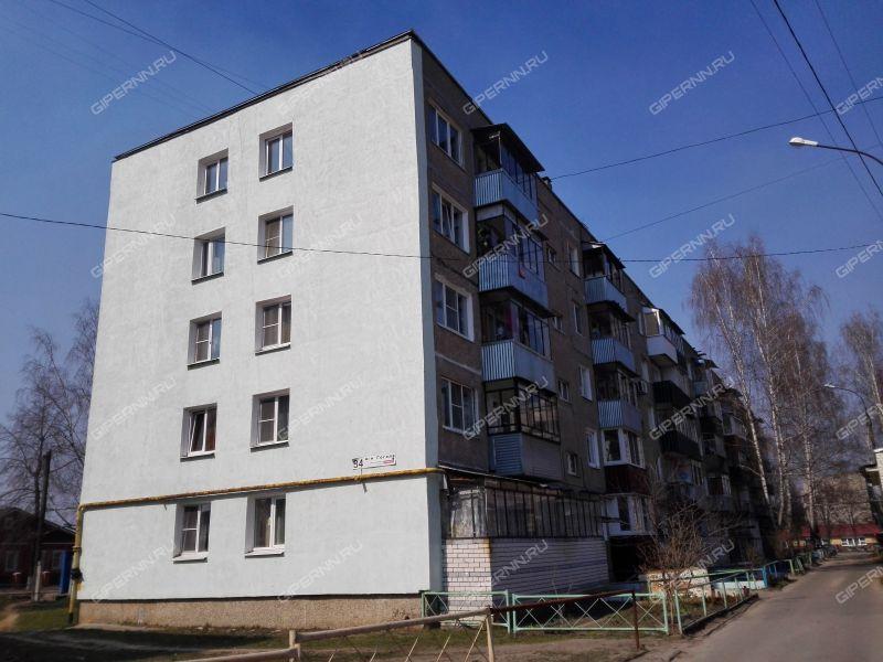 однокомнатная квартира в микрорайоне Гоголя дом 34 город Выкса